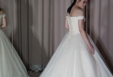 Off Shoulder Sequin Tulle Wedding Gown by iLook ( Makeup & Couture )