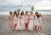 Beach Wedding At Canggu by CITTA Wedding