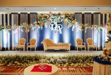The Wedding Of D & A by GLORIOSA DECORATION