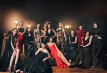 Various Celebrity Group Shoot by Robin Alfian Photography