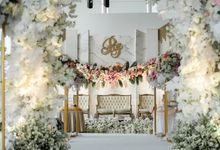 The Wedding Of  R & I by GLORIOSA DECORATION