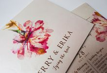 Herry & Erika by Bubble Cards