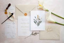 Beautiful in His time -  invitation for Yuanita and Indra - Jakarta by Memento Idea