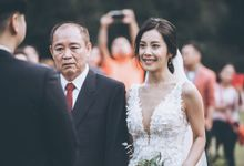 Ricco & Stefanie Outdoor Wedding by GoFotoVideo
