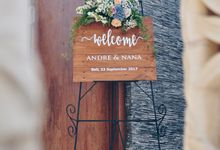 Wedding in Villa Phalosa by Bali Tie d' Knot