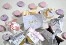 Wedding Favor  Sample Design by Amore Macarons