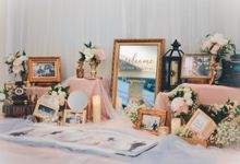 Chic Fairytale Wedding Photo Album Table by Every Sixth
