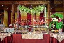 Wedding of Gina & Wahyu by Sonokembang Catering