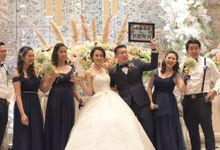 The Wedding Of Michael & Meifi by Venus Entertainment