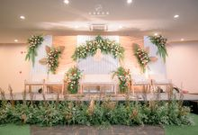 The Wedding of Marini & Mais di HOM Metland, Tambun by Decor Everywhere