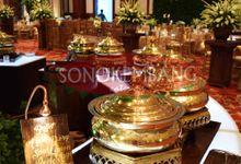 Wedding of Matt & Mira by Sonokembang Catering