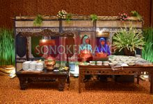 Wedding of Pinka & Fikri by Sonokembang Catering