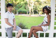Meerah & Raphael by Yue Qi Makeup Artistry