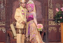 The Wedding of Septiva Rida and Akbar by Az-zahra Professional Wedding Services