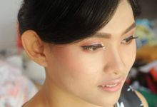 Oktavia's Natural Party Makeup and Hair by Stefanie Soe MUA & Hairstylist