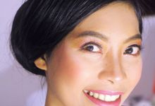 Ningsih's Natural Party Makeup and Hair by Stefanie Soe MUA & Hairstylist