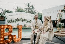 The Wedding of Bunga & Jody by Decor Everywhere