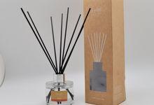 EYUN E-27 Natural Aromatic Rattan Diffuser 100ml by TAKI Creative Store