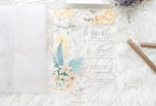 Full Color Acrylic With Vellum Cover And Clear Pouch by Furēmu