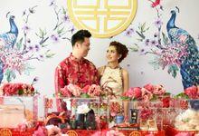 Widianto & Elina's Sangjit by Boosthampers Sangjit Seserahan Bali