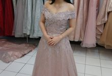 Our customer by Golden Phoenix Rent Gown