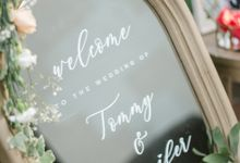 The Wedding of  Tommy & Jenifer by Bali Yes Florist