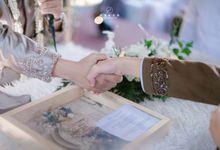 The Intimate Wedding Of Nadia & Ferry by Armadani Organizer