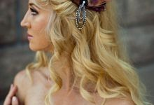 Bridesmaids and Flower Girls accessories by Fancy Bowtique Bridal Couture