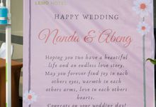 Wedding Nanda & Herlambang by Lemo Hotel