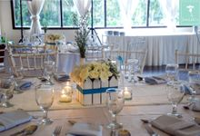 White and Blue by Josiah's Catering