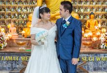Intimate wedding of Ditha & Tio by Weddingscape