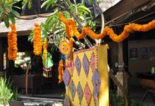 Rajasthani Indian Wedding by Hotel Vila Lumbung