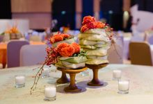 Balinese Floral Centrepieces by Make A Scene! Bali