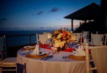 Kevin & Mega Wedding Dinner Reception by Karma Kandara