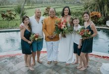 Catharine and Shane Buddhist Wedding in Bali by Happy Bali Wedding