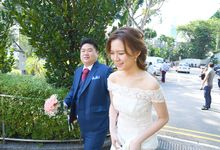 Solemnization Bride & Groom by Angel Chua Lay Keng Makeup and Hair