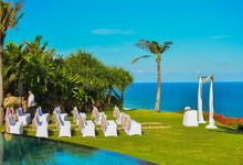 Wedding at The Ungasan in Uluwatu by Bali Tie d' Knot