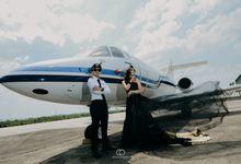 Prewedding Chairil & Nadia @ Bandara Halim Perdana Kusuma by Narasi Photography