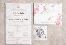 The Wedding of Ricky & Vinita by SentimeterCard