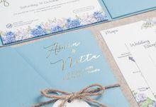 The Wedding of Aswin & Yaneta by SentimeterCard