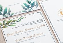 The Wedding of Garry & Grace by SentimeterCard
