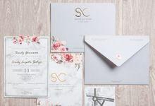 THE WEDDING OF SANDY CINDY by SentimeterCard