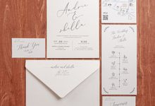The Wedding of Andrie & Shella by SentimeterCard