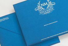 The Wedding of Martin & Nina by SentimeterCard