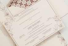 The Wedding Of Alfath & Rosalia by SentimeterCard