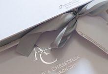 The Wedding og Anthony & Chrestella by SentimeterCard