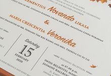 The Wedding of Novando & Veronika by SentimeterCard