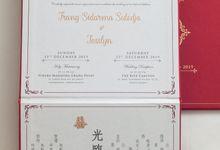 The Wedding of Trang Sidarma & Jesslyn by SentimeterCard