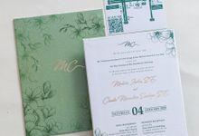 The Wedding of Malvin & Claudia by SentimeterCard