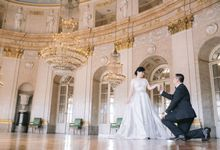 Prewedding Europe Anita Sebastian  Ludwigsburg Castle by Rosemerry Pictures
